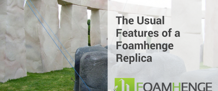 The Usual Features of a Foamhenge Replica